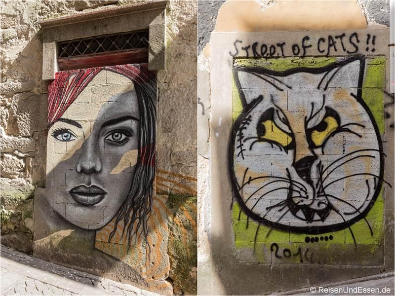 Streetart in den Gassen von Porto