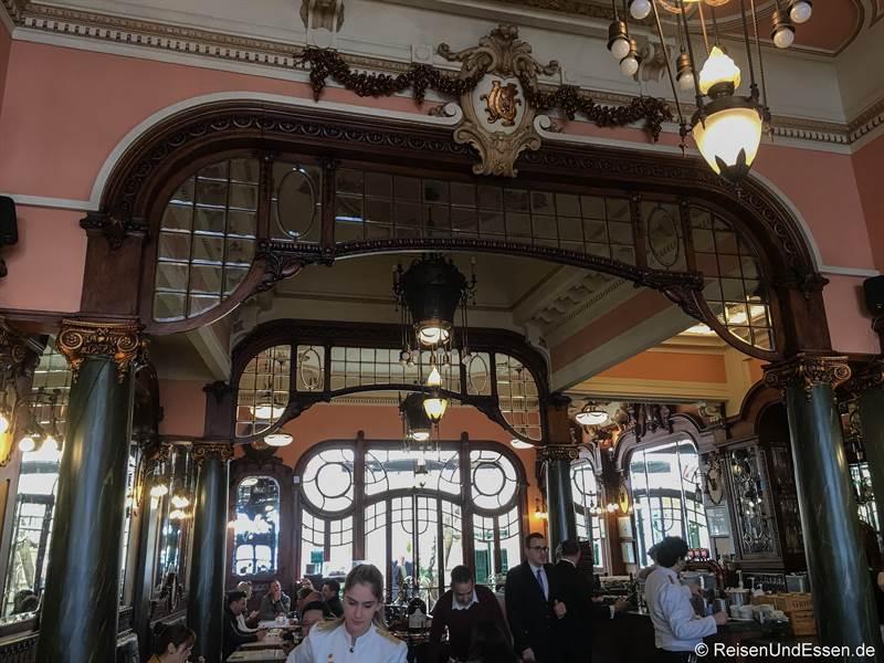 Jugendstil im Cafe Majestic