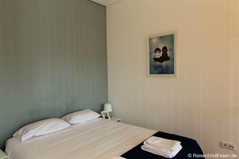 Schlafzimmer in der Ferienwohnung in Porto