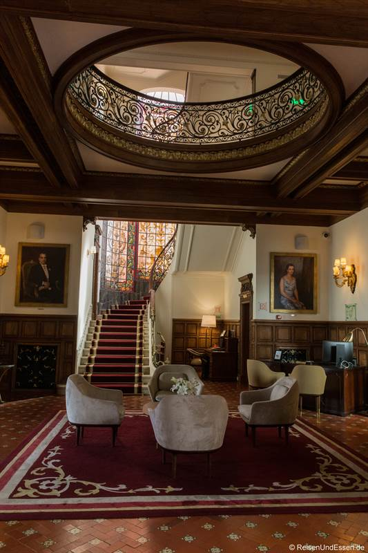Lobby im Hotel Infante Sagres in Porto