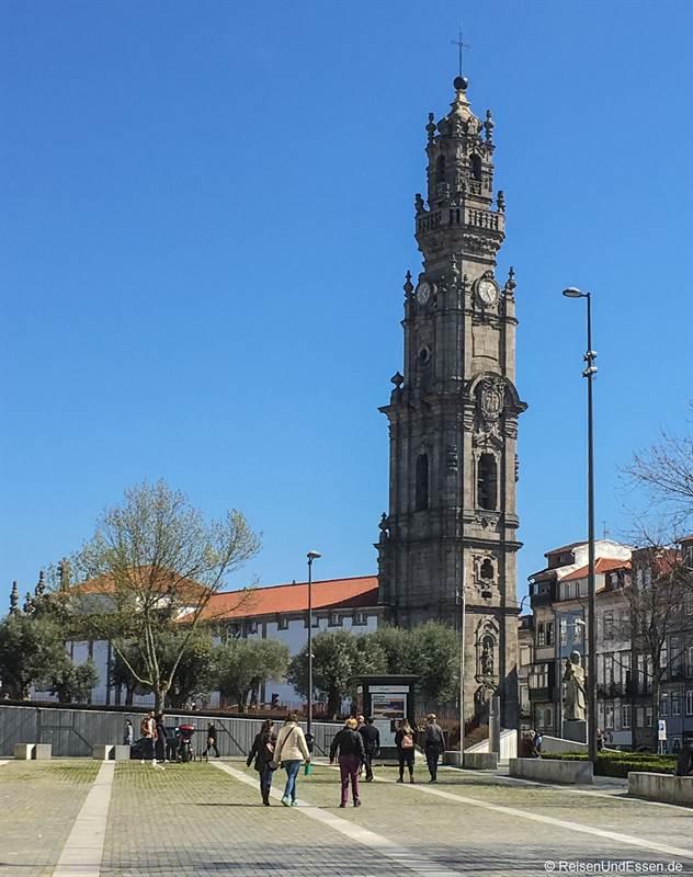 Torre dos Clérigos - Sehenswürdigkeiten in Porto