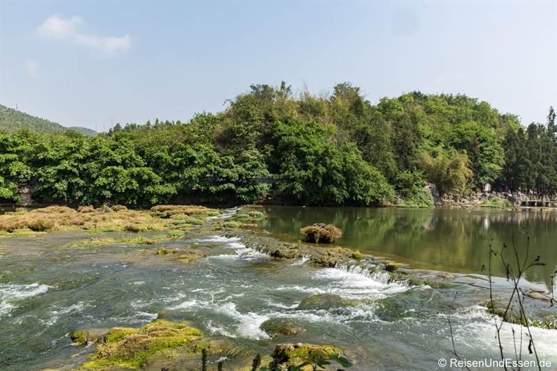 Auf dem Weg zum Doupotang Wasserfall in Guizhou