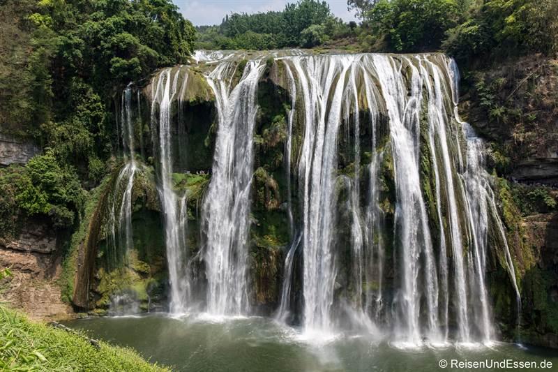 Wasserfall Huangguoshu in Guizhou