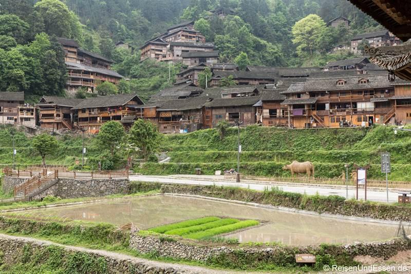 Dorf Langde der Miao in der Provinz Guizhou