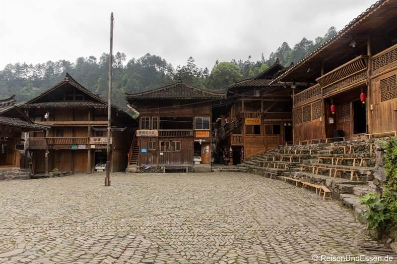 Versammlungsplatz der Miao in Langde
