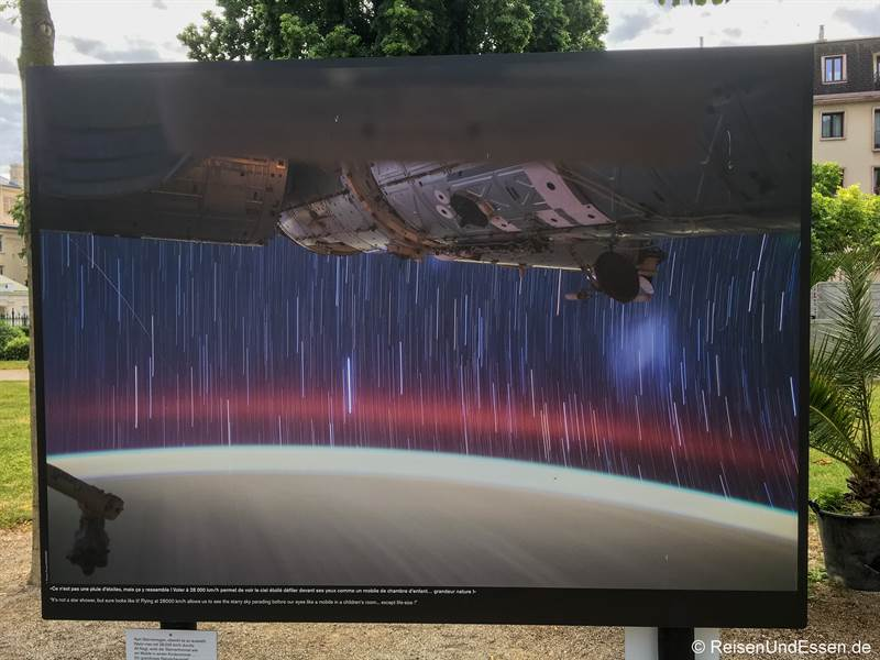 Fotografie aus der ISS von Thomas Pesquet Fotofestival La Gacilly