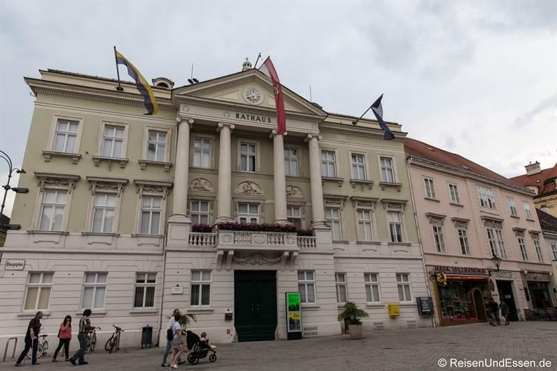 Rathaus von Baden bei Wien