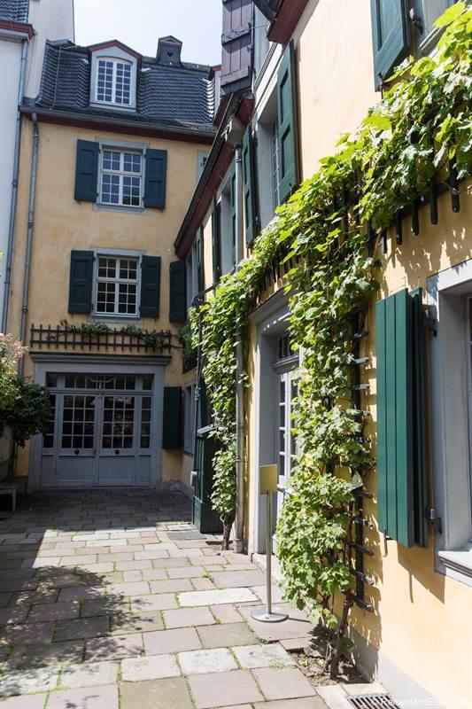 Innenhof vom Beethovenhaus in Bonn