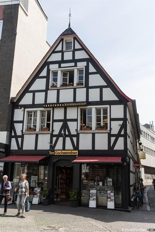 Fachwerkhaus in der Innenstadt von Bonn