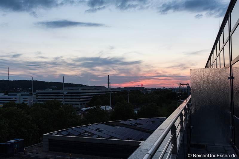 Aussicht von der Suite im 6. Stock im Maritim Hotel Bonn