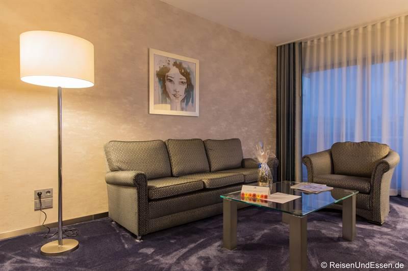 Suite im 6. Stock im Maritim Hotel Bonn