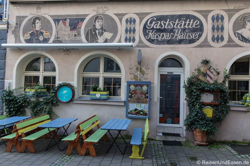 Gaststätte Kaspar Hauser in Ansbach