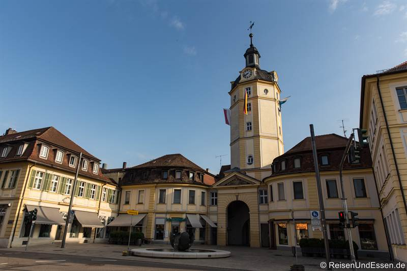 Herrieder Tor in Ansbach