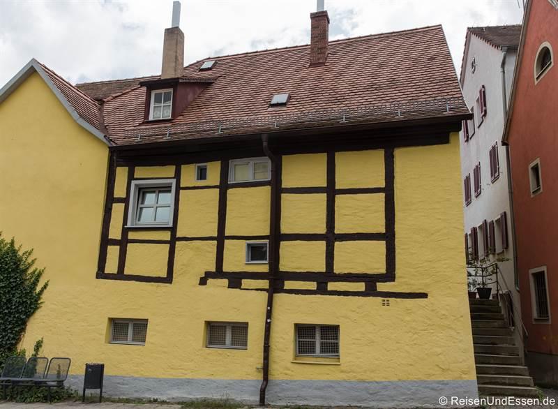 Fachwerkhaus in der Altstadt von Ansbach