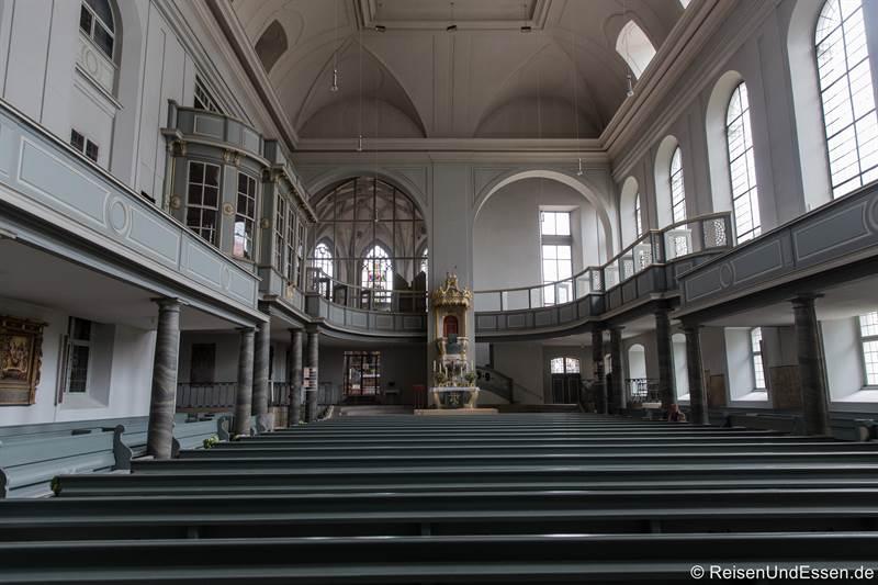 Kirche St. Gumbertus von Innen