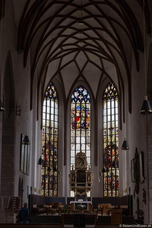 Altar in der Kirche St. Johannis