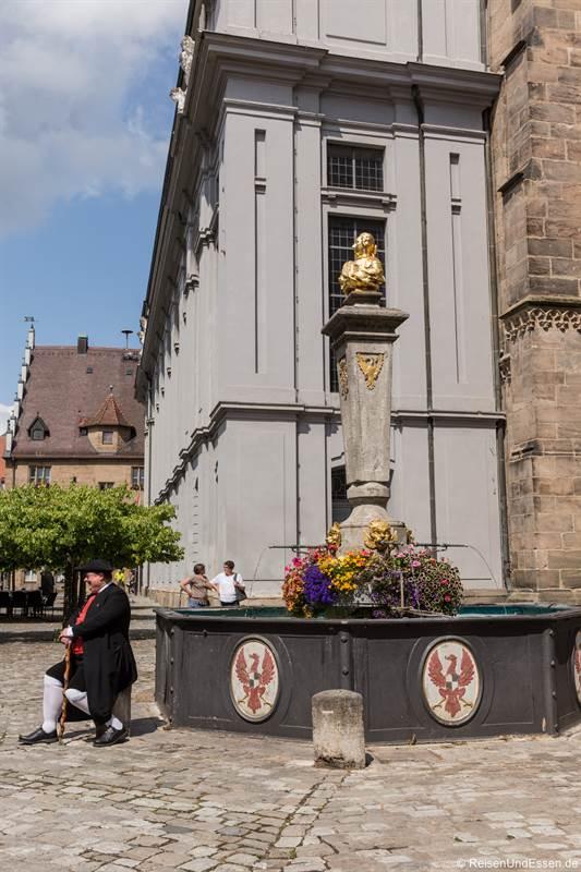 Markgraf-Friedrich-Wilhelm-Brunnen in Ansbach