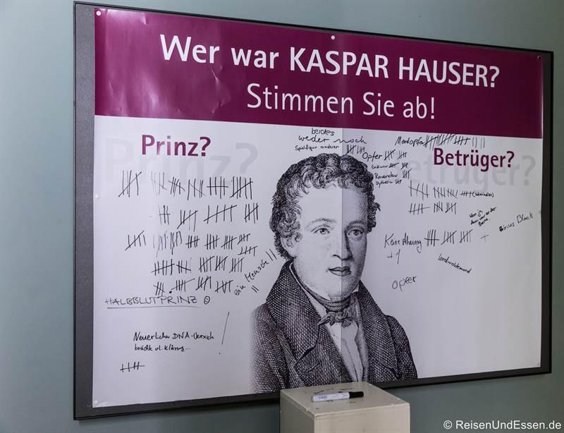 Kaspar Hauser Abstimmung im Markgrafenmuseum