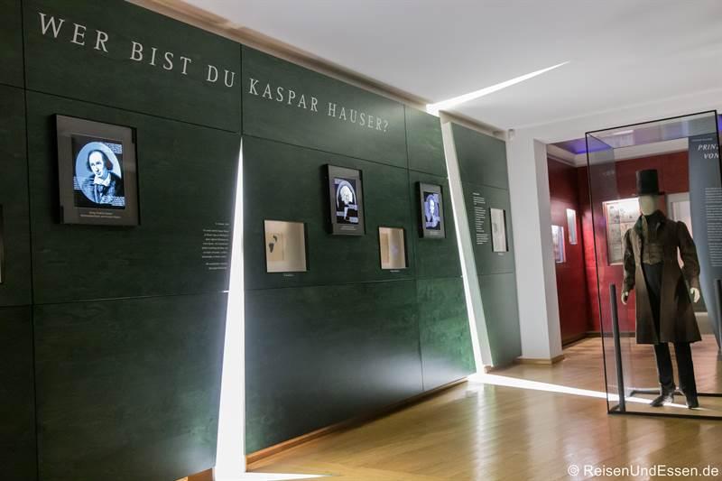 Kaspar Hauser im Markgrafenmuseum