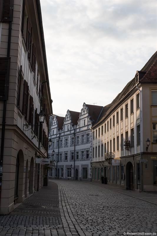 Martin-Luther-Platz am Morgen