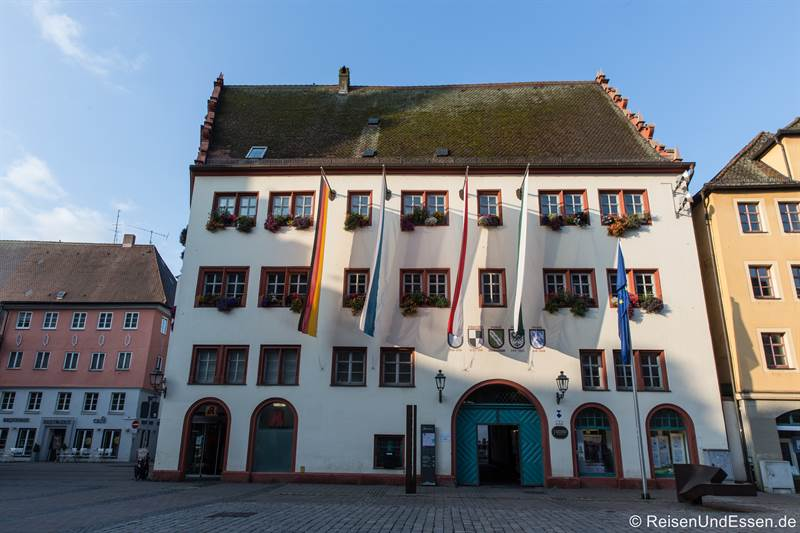 Rathaus am Martin-Luther-Platz in Ansbach