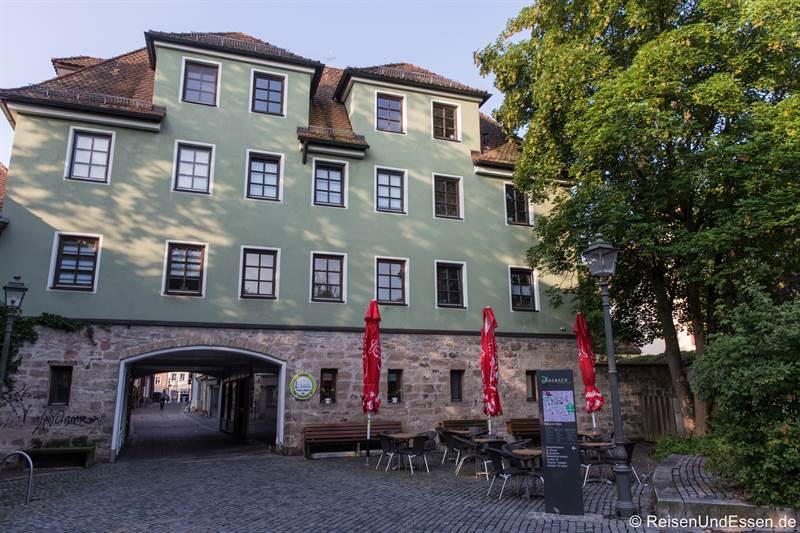 Platz an der Riviera in Ansbach