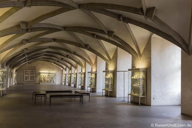 Halle in der Residenz in Ansbach