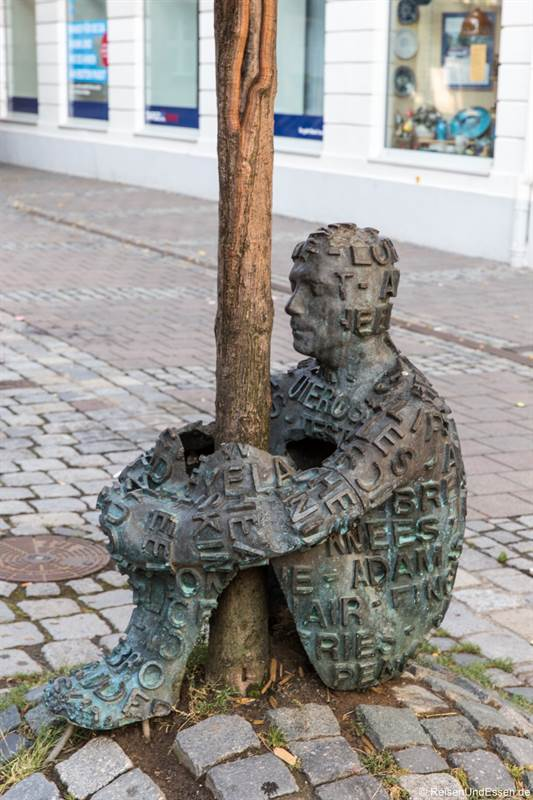 Skulptur in Ansbach