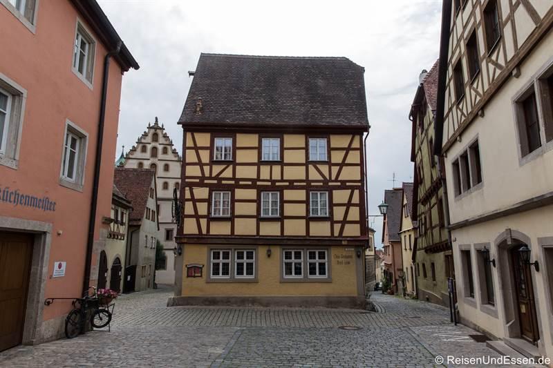 Fachwerkhaus in der Heugasse