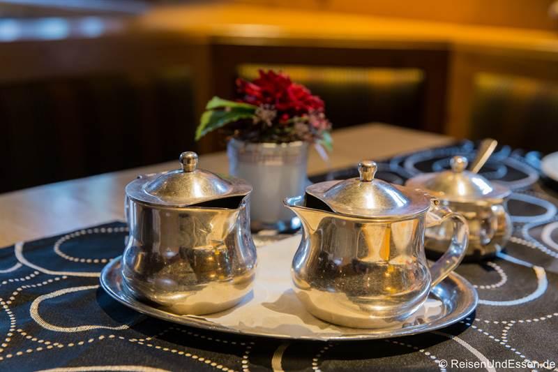 Frühstück im Hotel BurgGartenpalais