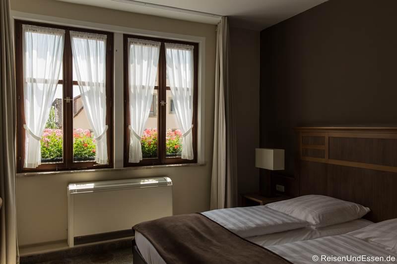 Zimnmer im Hotel BurgGartenpalais - Übernachten in Rothenburg ob der Tauber