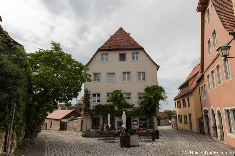 Judengasse in Rothenburg ob der Tauber