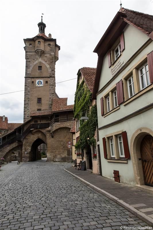 Klingentor - Sehenswürdigkeiten in Rothenburg ob der Tauber