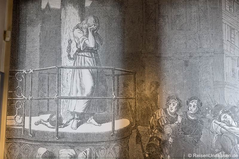 Pranger im Mittelalterlichen Kriminalmuseum - Tipps für Rothenburg