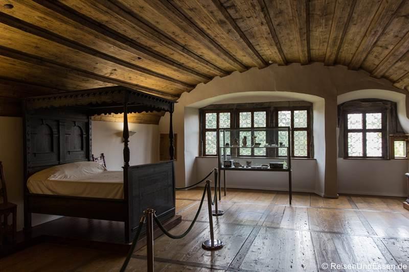 Schlafzimmer im Rothenburg Museum