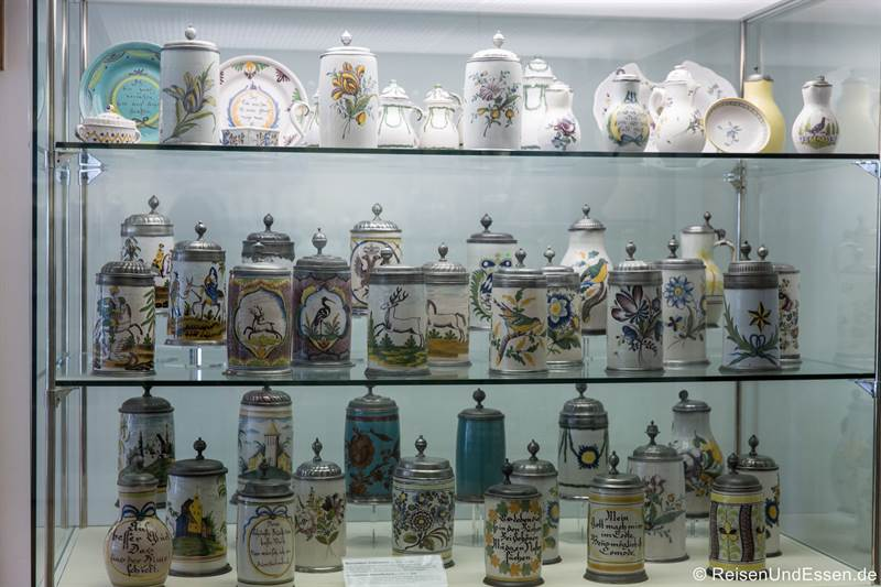 Bierhumpen im Rothenburg Museum