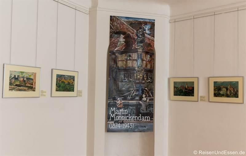 Sonderausstellung Martin Monnickendamm im Rothenburg Museum