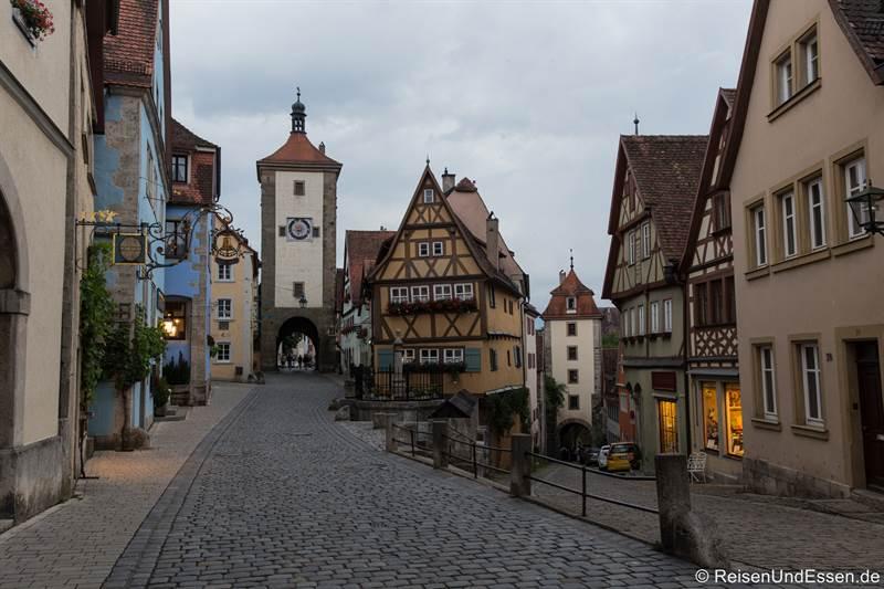 Plönlein - Sehenswürdigkeiten in Rothenburg