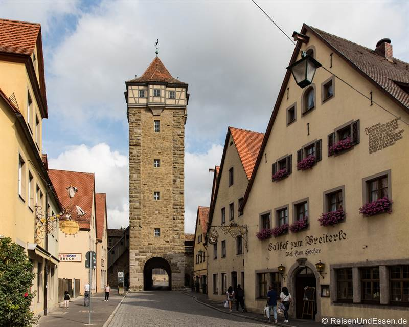 Röderturm in Rothernburg ob der Tauber