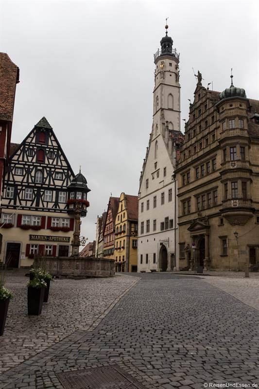 Rathausturm - Sehenswürdigkeiten in Rothenburg