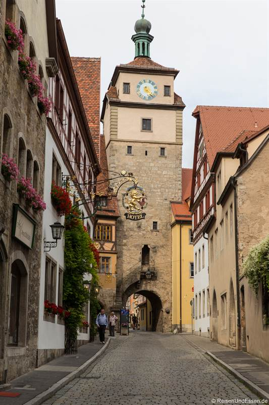 Weisser Turm in Rothenburg ob der Tauber