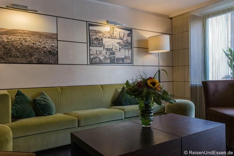 Lobby in der Hotel Die Gams