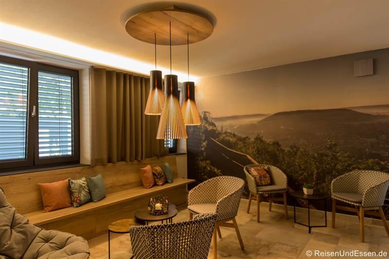 Lounge im SPA-Haus