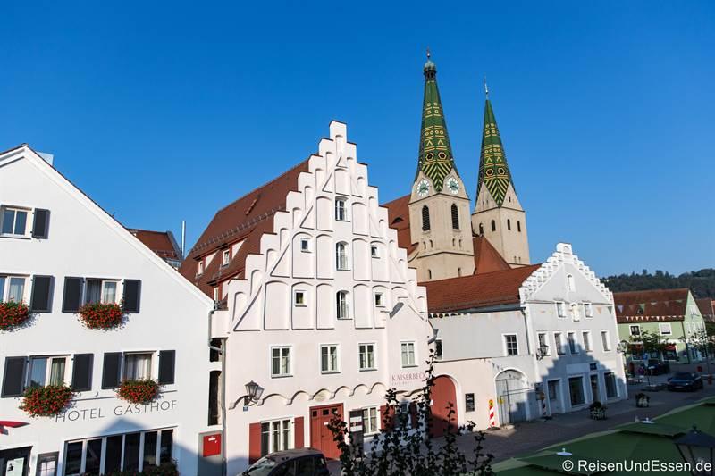 Blick auf die Stadtpfarrkirche in Beilngries