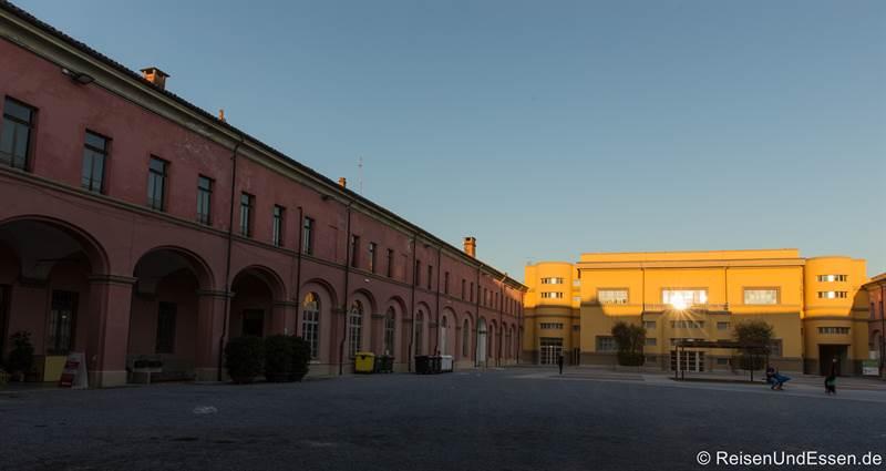 Cortile della Maddalena in Alba im Piemont