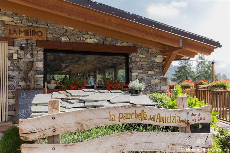 Chalet La Meiro in Chiappi im Piemont