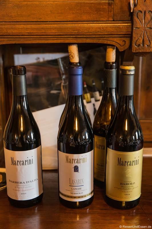 Weinprobe beim Weingut Marcarini in La Morra