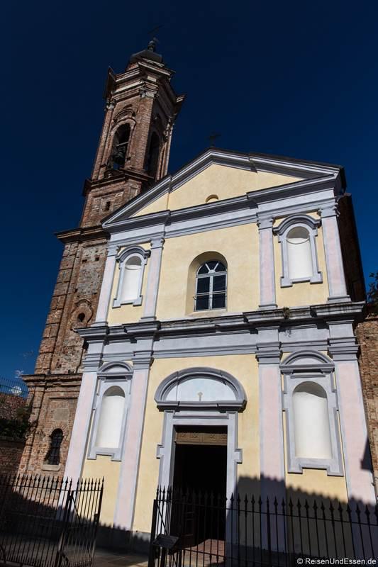 Kirche San Sebastiano in La Morra