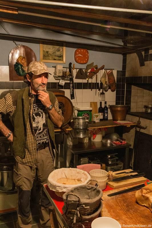 Eigentümer von der Cascina Pistone erzählt von seinem Leben