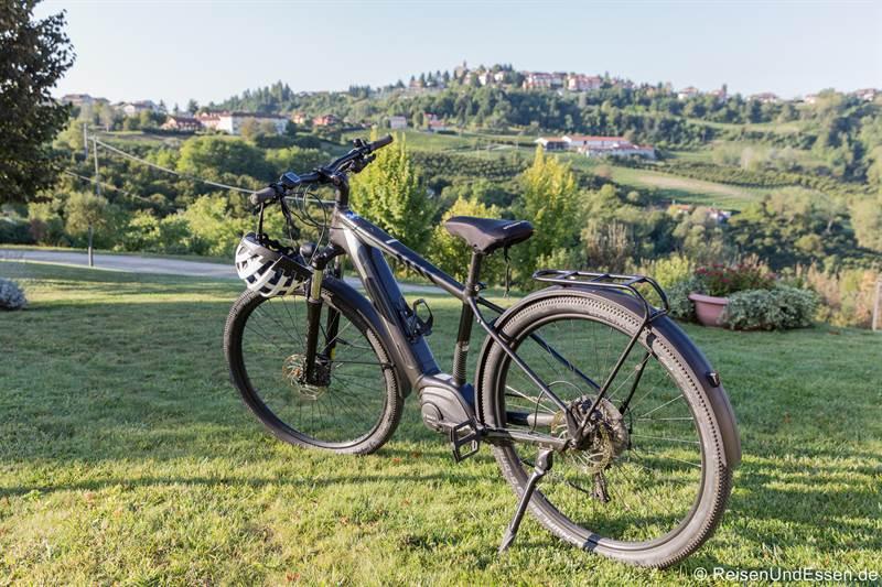 E-Bike für die Tour durch Langhe im Piemont